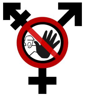 Transgender 'No Entry'