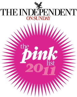 The Independent On Sunday: The Pink List 2011