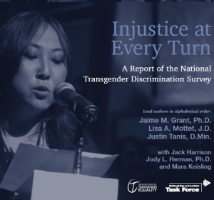 Injustice at Every Turn: A Report of the National Transgender Discrimination Survey